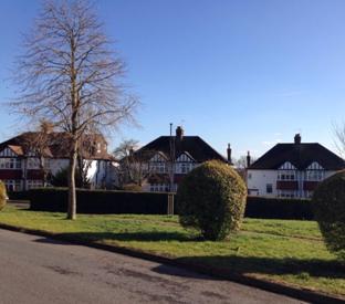 Barrio residencial de Norbury